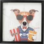 Bild Frame Art Cinema Dog 50x50cm
