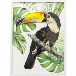Bild Frame Art Paradise Bird Single 70x50cm