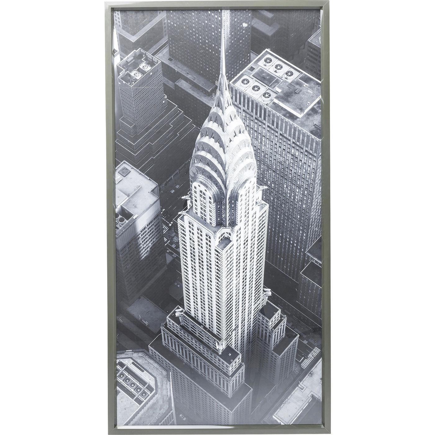 Bild Frame Chrysler Building View 166x86cm
