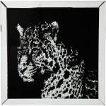 Bild Frame Mirror Leopard