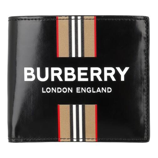 Burberry Portemonnaies - Wallet Leather - in schwarz - für Damen