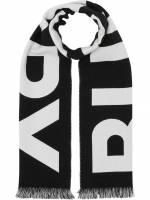 Burberry Schal mit Logo - Schwarz