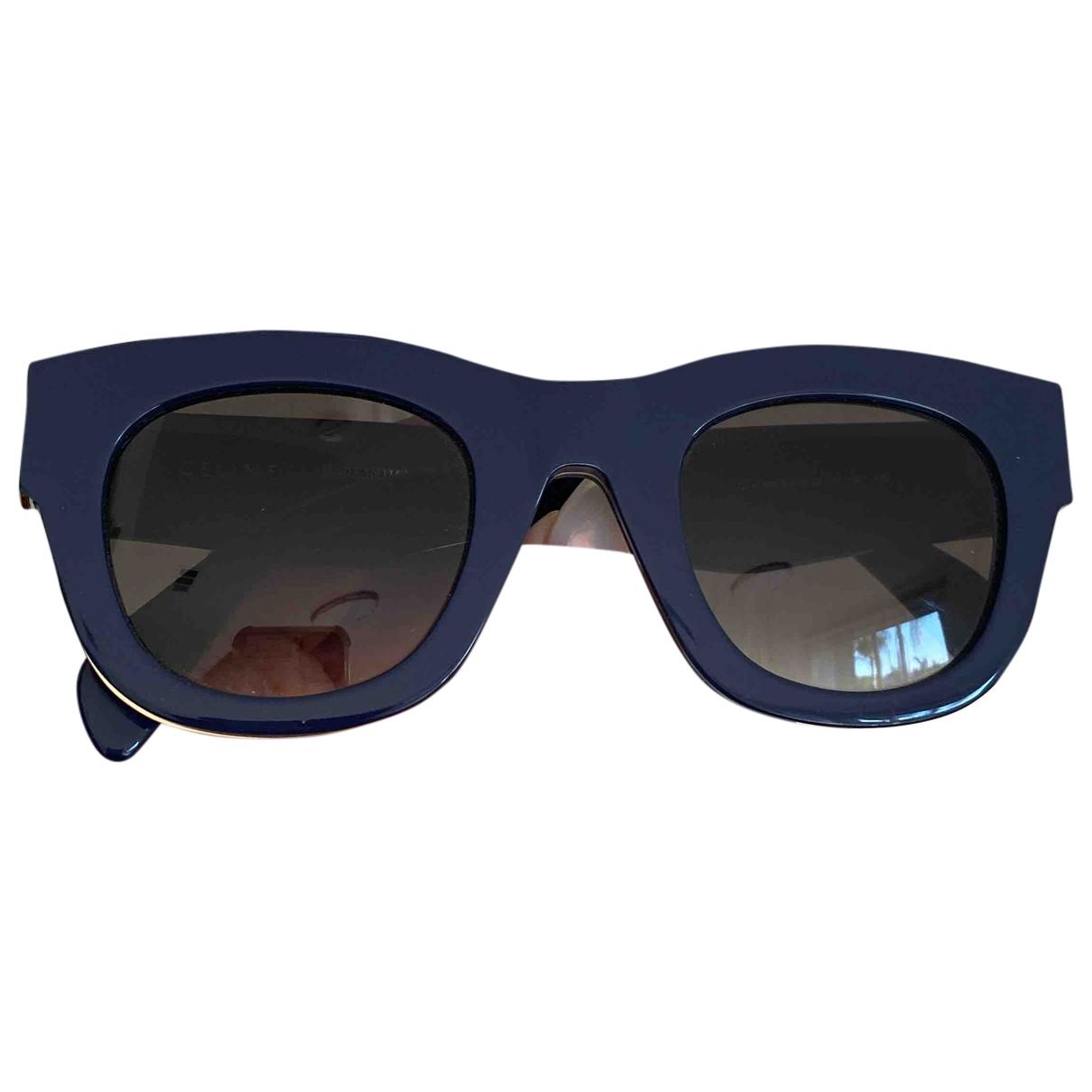 Celine blue Plastic SUNGLASSES