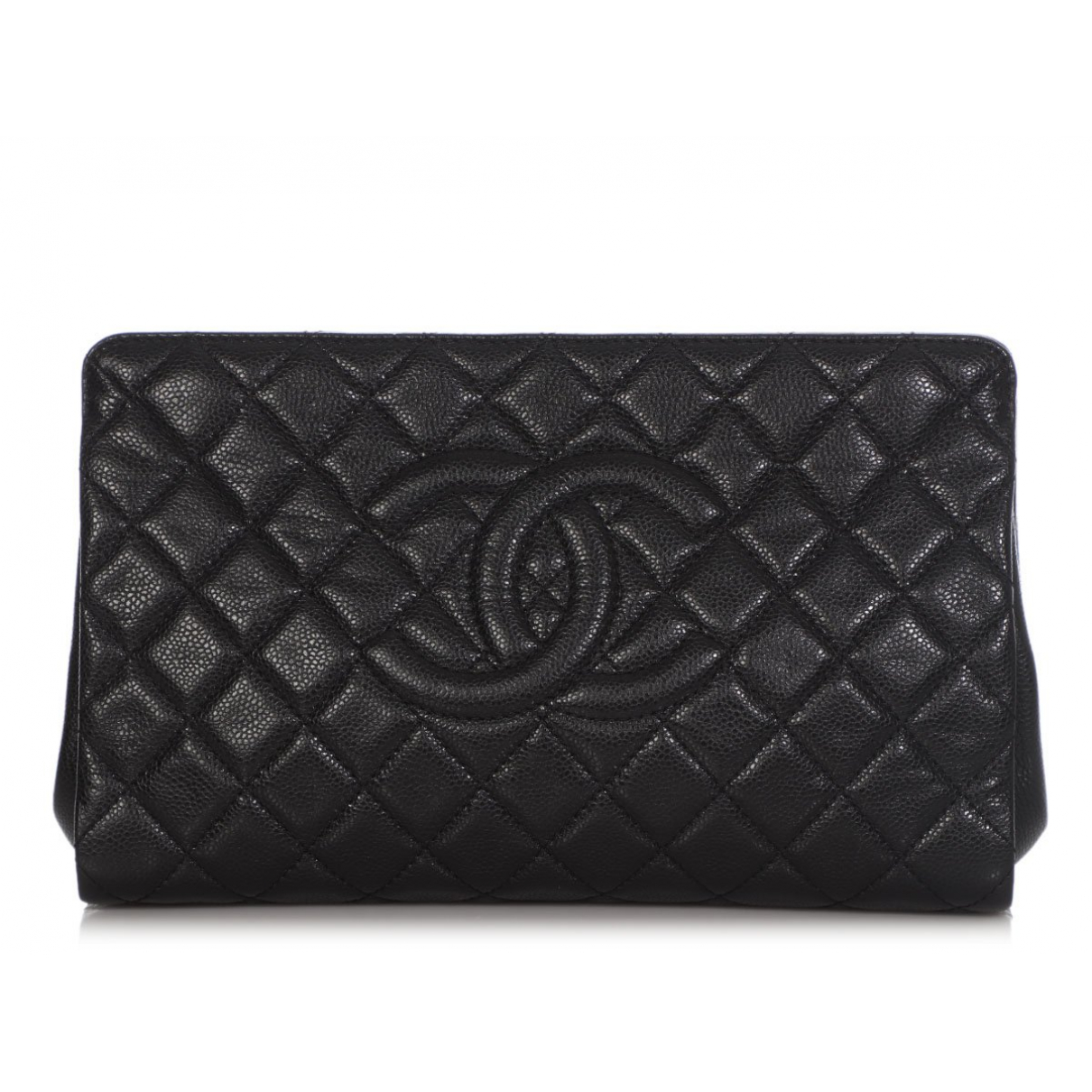 Chanel black Cloth CLUTCH BAGS