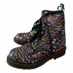 Dr. Martens N Multicolour Glitter Ankle boots for Women 39 EU