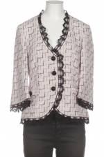 Elegance Paris Damen Blazer pink, DE 36, Baumwolle Synthetik Viskose , 3BD68F0
