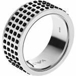 Herren Emporio Armani Size U Off The Grid Ring Edelstahl EGS2118040512