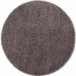 """Hochflor-Teppich """"Pulpy 100"""", Carpet City, rund, Höhe 30 mm, Wohnzimmer"""