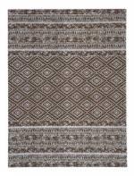 Kayoom Outdoor-Teppich - Sunny 110 Braun, braun, 80cm x 150cm