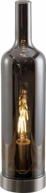 """LED Tischleuchte """"BOTTLE"""", rot, Material Metall, Glas, Nino Leuchten"""