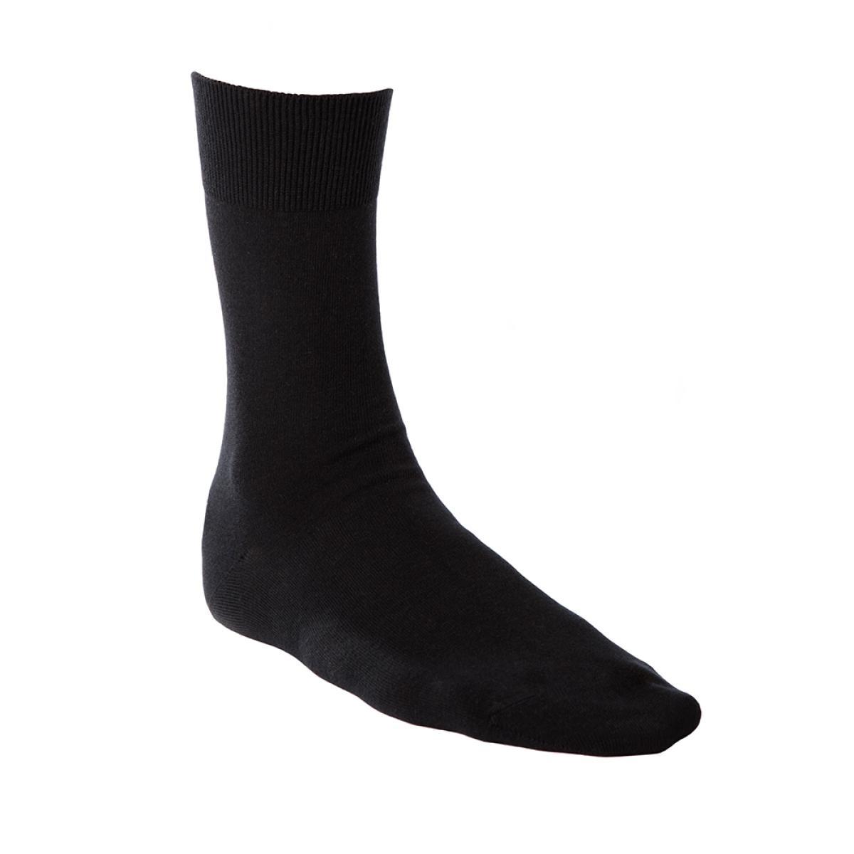 Living Crafts Damen/Herren Business-Socken 2er-Pack Bio-Baumwolle