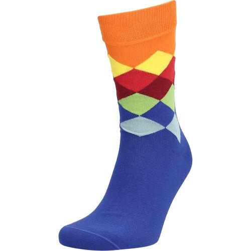 MANGUUN Socken, gemustert, für Herren, bunt raute, 40-46