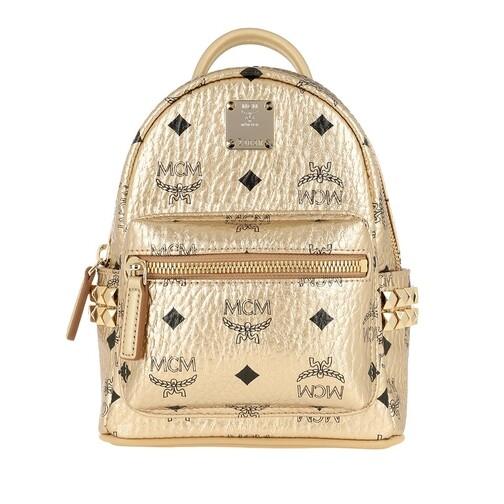 MCM Rucksack - Stark Backpack Extra Mini - in gold - für Damen