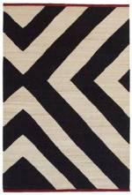 Mélange Zoom Teppich / 200 x 300 cm - Nanimarquina - Schwarz
