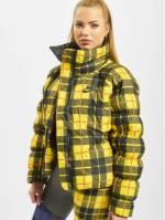Nike Frauen Puffer Jacket Synthetic Fill AOP PD in gelb