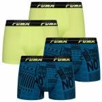 PUMA Activism All Over Print Herren Boxershorts 4er-Pack 601001001-004