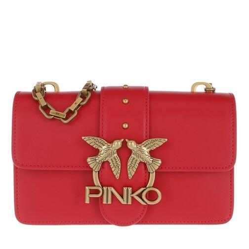 Pinko Crossbody Bags - Love Mini Icon Simply 5 Crossbody - in rot - für Damen