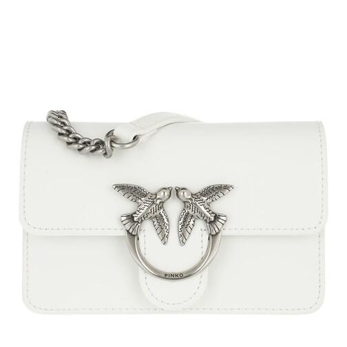 Pinko Crossbody Bags - Love Mini Icon Simply 8 Crossbody - in weiß - für Damen