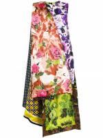 Richard Quinn Kleid mit Blumen-Print - Mehrfarbig
