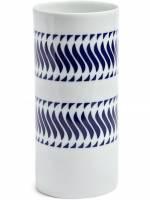 Sargadelos 'Follelas Nº 4' Vase - Weiß
