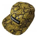 Supreme yellow Plastic Hats & Pull ON Hats