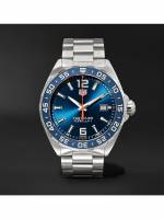 TAG Heuer - Formula 1 Quartz 43mm Stainless Steel Watch, Ref. No. WAZ1010.BA0842 - Men - Blue