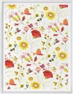 """Wall-Art Poster """"Märchen Wandbilder Florale Blumen"""", Pflanzen (1 Stück), Poster, Wandbild, Bild, Wandposter"""