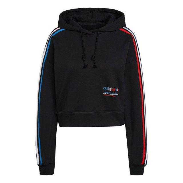 """adidas Originals Kapuzenpullover """"Adicolor Tricolor Trefoil Crop Hoodie"""""""