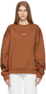 ADER error Brown Jumbled Sweatshirt