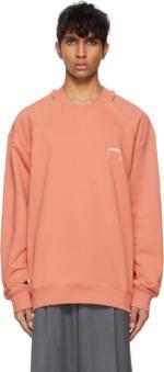 ADER error Pink Kaput Sweatshirt