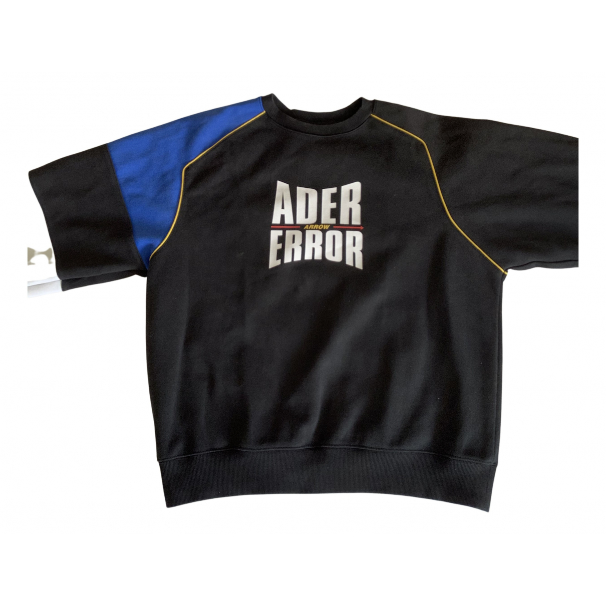 Ader Error Black Cotton Knitwear & Sweatshirt