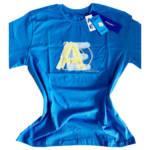 Ader Error Blue Cotton T-shirt