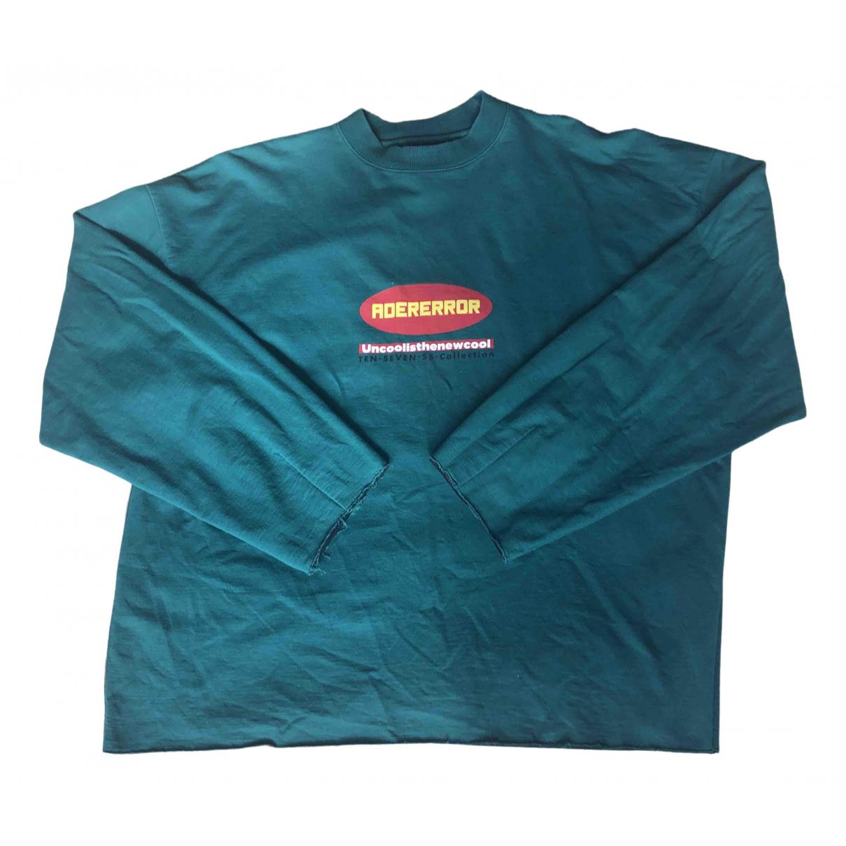 Ader Error Green Knitwear & Sweatshirt