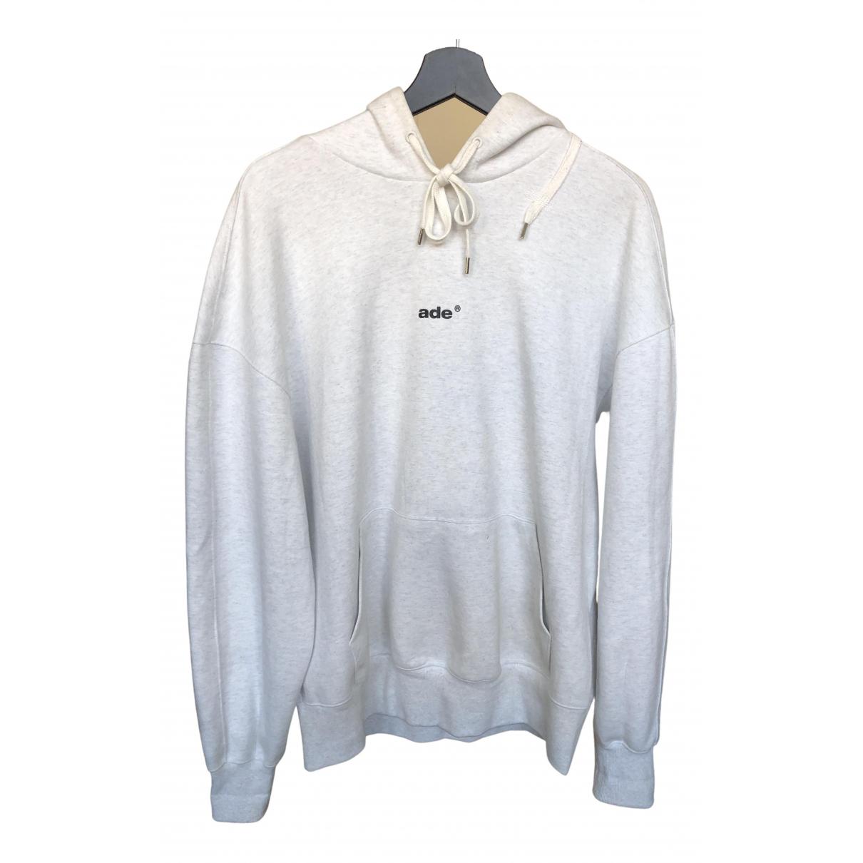 Ader Error White Cotton Knitwear & Sweatshirt
