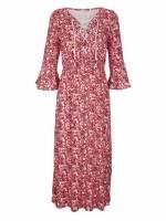 Alba Moda Strandkleid mit Zierkordel