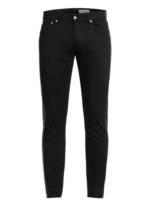 Alexander Mcqueen Jeans Extra Slim Fit Mit Galonstreifen schwarz