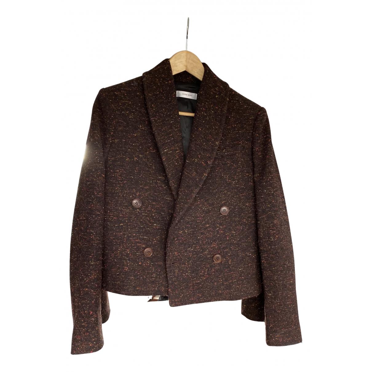 Anine Bing Spring Summer 2020 wool blazer