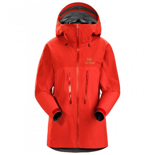 Arc'teryx - Women's Alpha AR Jacket - Regenjacke Gr M rot