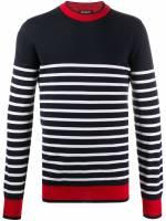 Balmain Pullover mit Querstreifen - Blau
