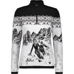 CMP Damen Print Ski Pullover (Größe M, Schwarz)