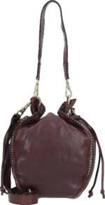 Campomaggi, Beuteltasche Leder 20 Cm in dunkelbraun, Schultertaschen für Damen