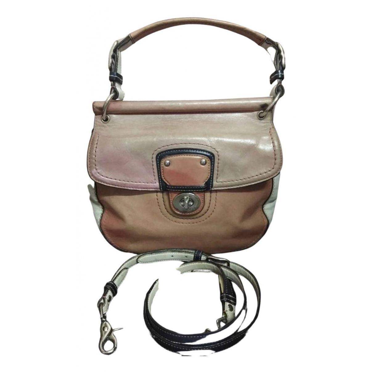 Coach Large Scout Hobo leather vanity case