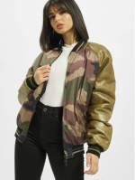De Ferro Frauen College Jacke Strong Army Bsj in camouflage