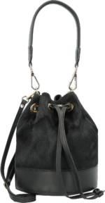 Gabs, Aurora Beuteltasche Leder 19 Cm in schwarz, Henkeltaschen für Damen