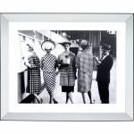 Gerahmtes Bild Book Club 85x105