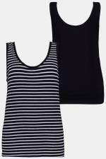 Grosse Grössen Unterhemd, Damen, grau, Größe: 42/44, Baumwolle, Ulla Popken
