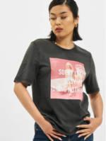 Only Frauen T-Shirt Only onlBarbie Life Boxy in schwarz