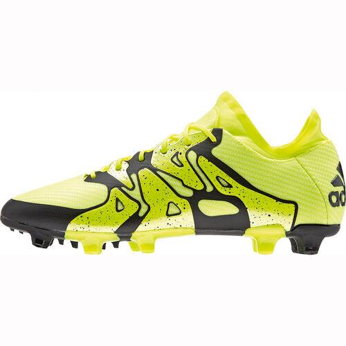 adidas Fußballschuh X15.1 FG/AG, Herren F, gelb/schwarz, 45 1/3