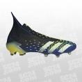adidas Predator Freak+ FG schwarz/gelb Größe 47 1/3