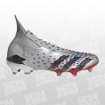 adidas Predator Freak+ FG silber/rot Größe 45 1/3